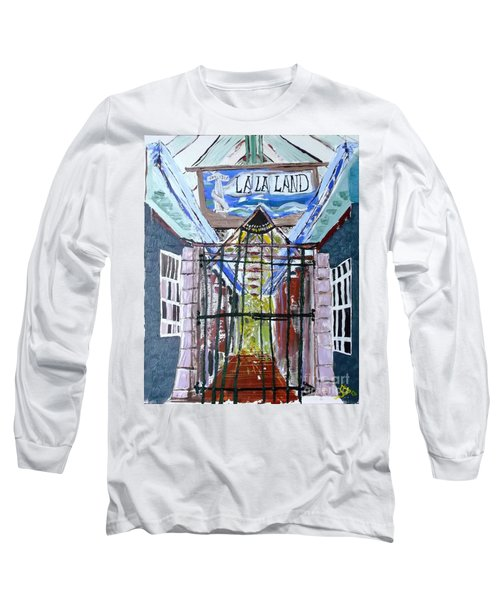 La La Land  Long Sleeve T-Shirt by Leslie Byrne