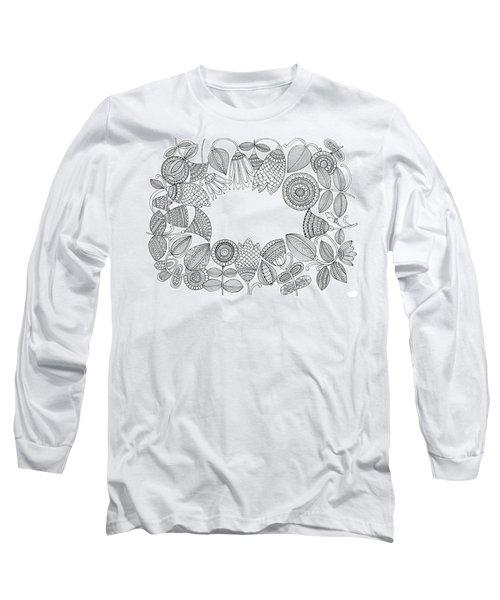 Label Pattern 5 Long Sleeve T-Shirt