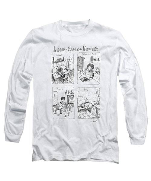 Labor-saving Devices Long Sleeve T-Shirt