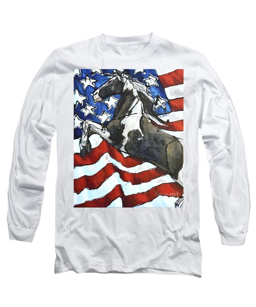 Lady C Salutes Long Sleeve T-Shirt