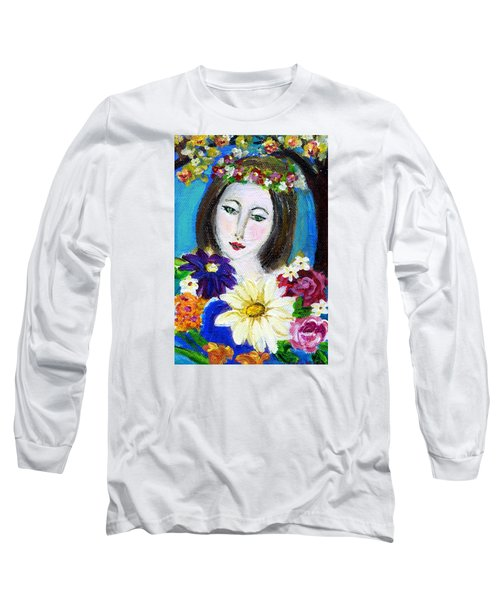 Lady Of Spring Long Sleeve T-Shirt