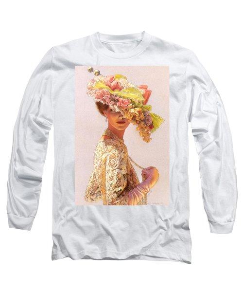 Lady Victoria Victorian Elegance Long Sleeve T-Shirt