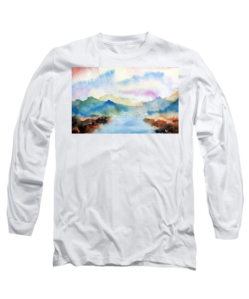 Lake Chuzenji Nikko Long Sleeve T-Shirt