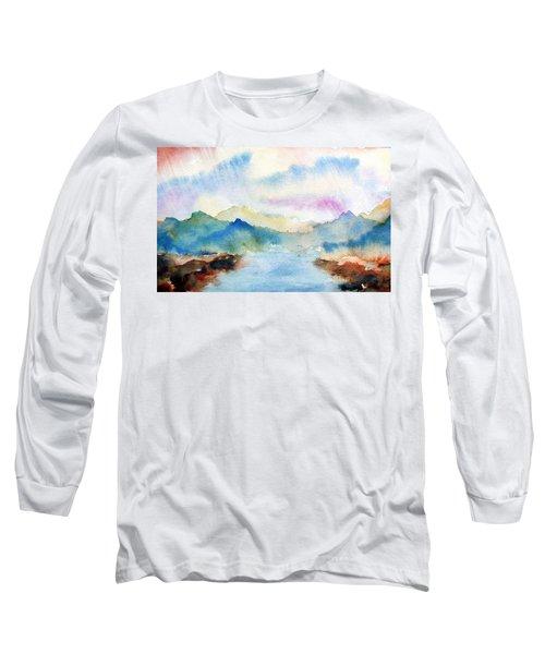 Lake Chuzenji Nikko Long Sleeve T-Shirt
