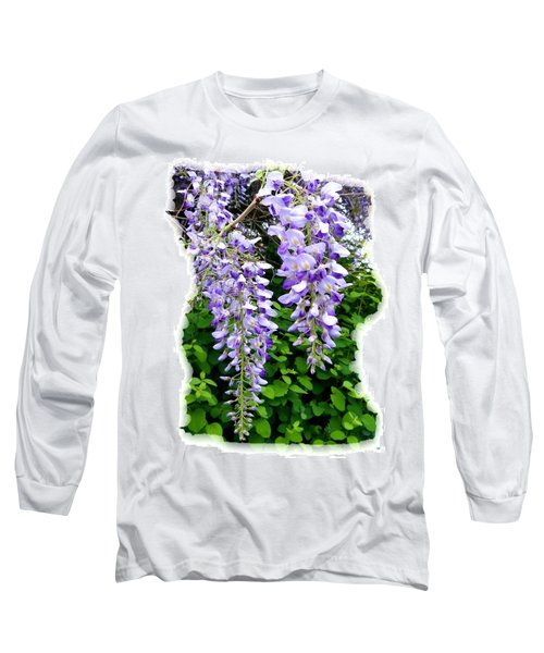 Lake Country Wisteria Long Sleeve T-Shirt