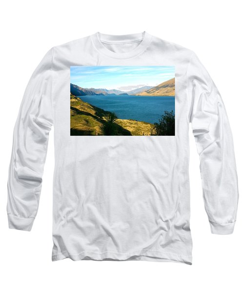 Lake Hawea Long Sleeve T-Shirt by Stuart Litoff