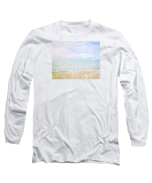 Lake Michigan At Oak St Bch Chicago Long Sleeve T-Shirt