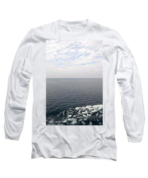 Lake Michigan Midpoint Long Sleeve T-Shirt