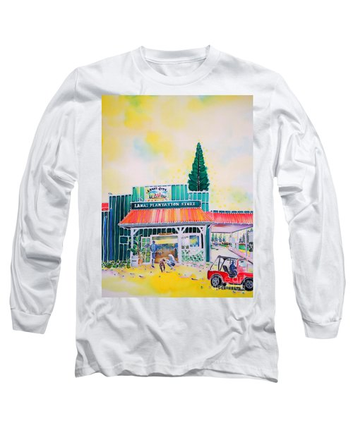 Lanai City Long Sleeve T-Shirt