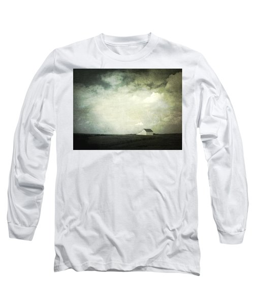Lancaster Ohio Barn 3 Long Sleeve T-Shirt by Cynthia Lassiter
