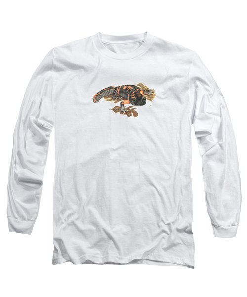 Large Blotched Salamander2 Long Sleeve T-Shirt