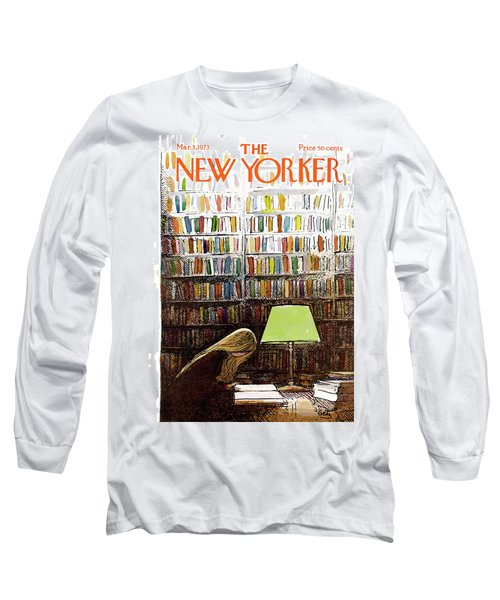Late Night At The Library Long Sleeve T-Shirt