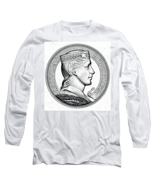 Latvia Crown Long Sleeve T-Shirt