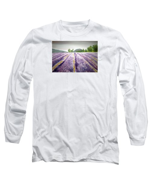 Lavender Fields  Long Sleeve T-Shirt