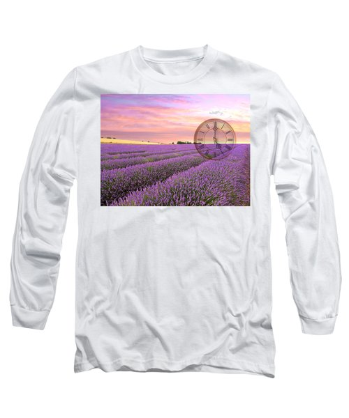 Lavender Time Long Sleeve T-Shirt