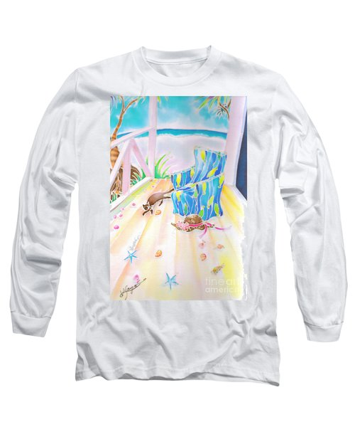 Lazy Afternoon Long Sleeve T-Shirt