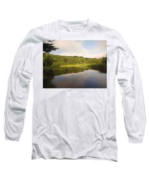 Long Sleeve T-Shirt featuring the photograph Lazy Afternoon by Michael Porchik