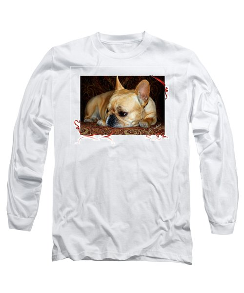 Long Sleeve T-Shirt featuring the photograph Lazy Paisley Afternoon by Barbara Chichester
