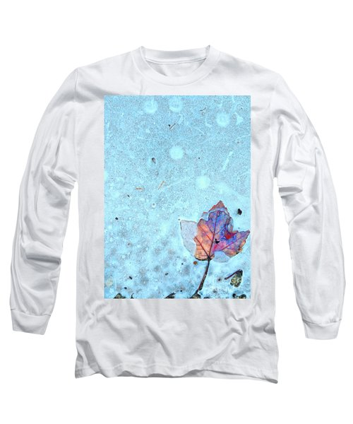 Leaf In Ice Long Sleeve T-Shirt
