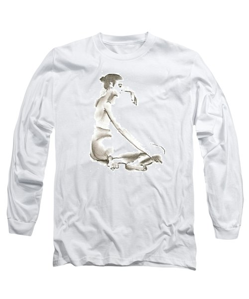Leaning To The Side Lutar Sig Long Sleeve T-Shirt