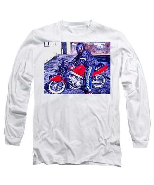 Learn How To Ride Long Sleeve T-Shirt