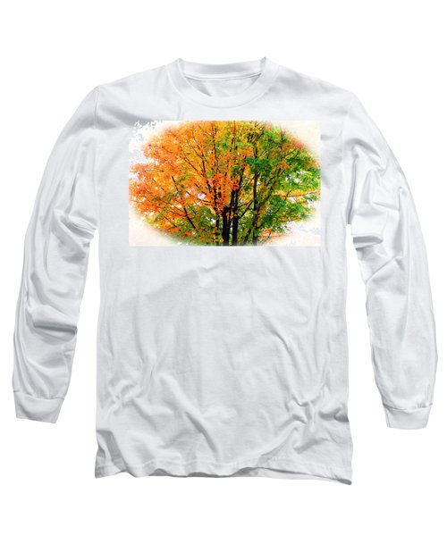Leaves Changing Colors Long Sleeve T-Shirt