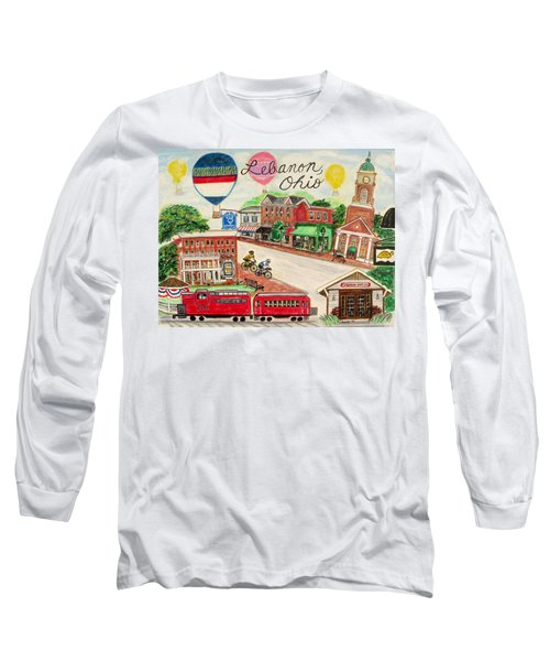 Lebanon Ohio Long Sleeve T-Shirt