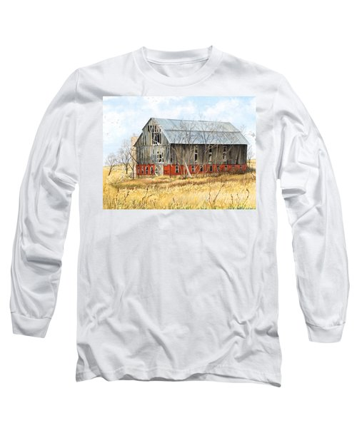 Left Behind Long Sleeve T-Shirt by Barbara Jewell