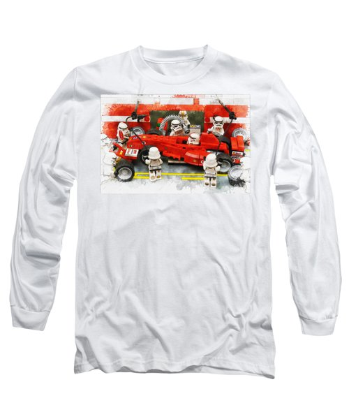 Lego Pit Stop Long Sleeve T-Shirt