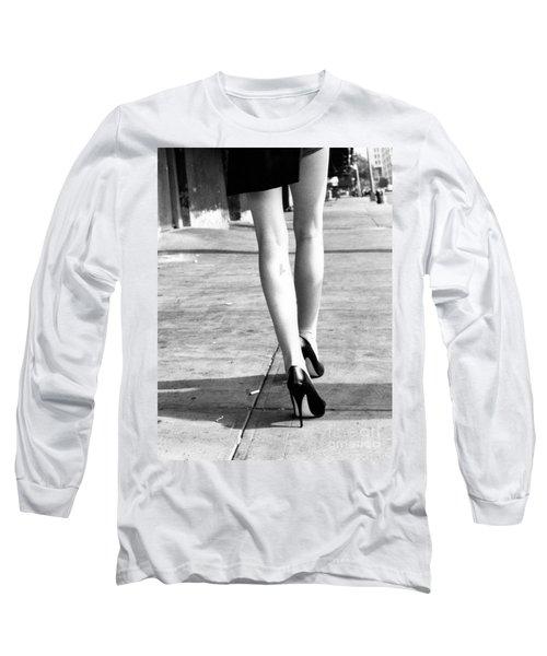 Legs New York Long Sleeve T-Shirt by Rebecca Harman