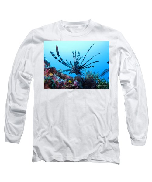 Long Sleeve T-Shirt featuring the photograph Leon Fish by Sergey Lukashin