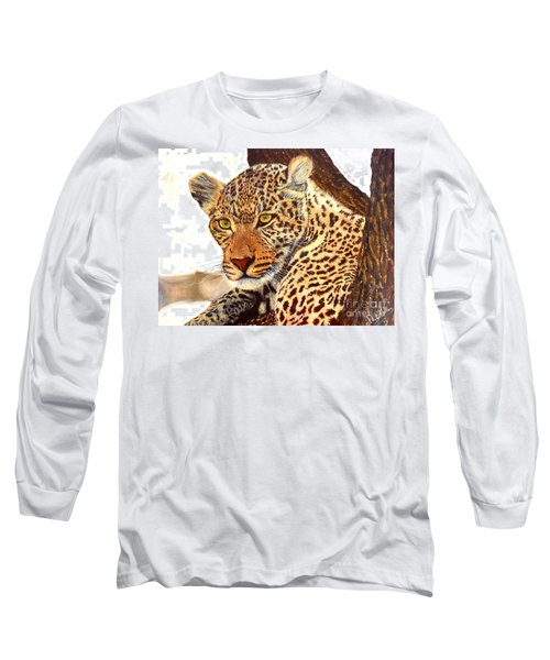 Leopard Point Of View Long Sleeve T-Shirt