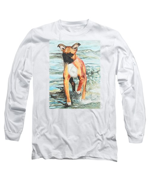 Leyla Long Sleeve T-Shirt by Jeanne Fischer