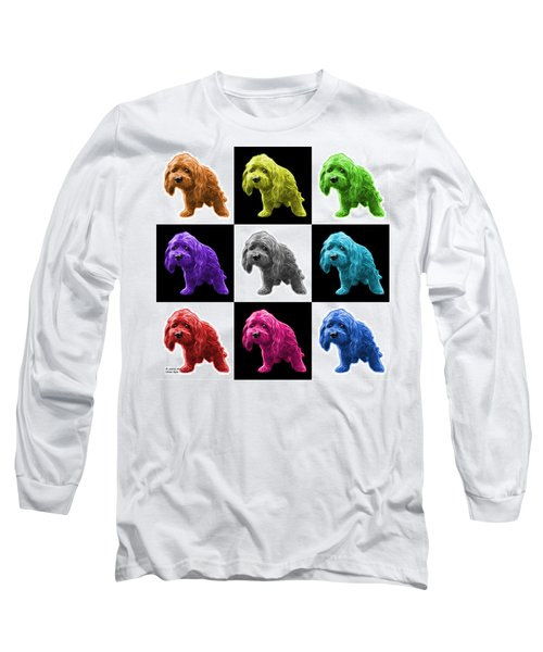 Lhasa Apso Pop Art - 5331 - V2- M Long Sleeve T-Shirt