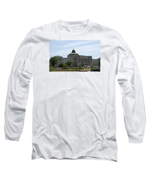 Library Of Congress  Long Sleeve T-Shirt by Christiane Schulze Art And Photography
