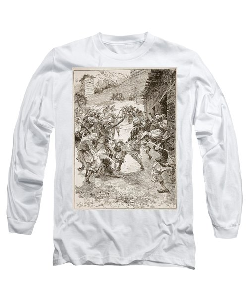 Lieutenant Harley, At The Head Of Forty Long Sleeve T-Shirt