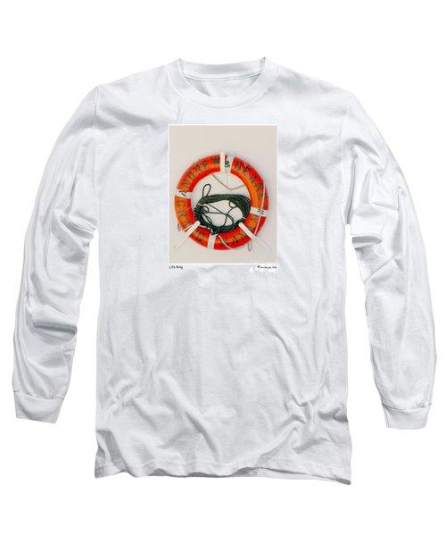Life Ring Long Sleeve T-Shirt