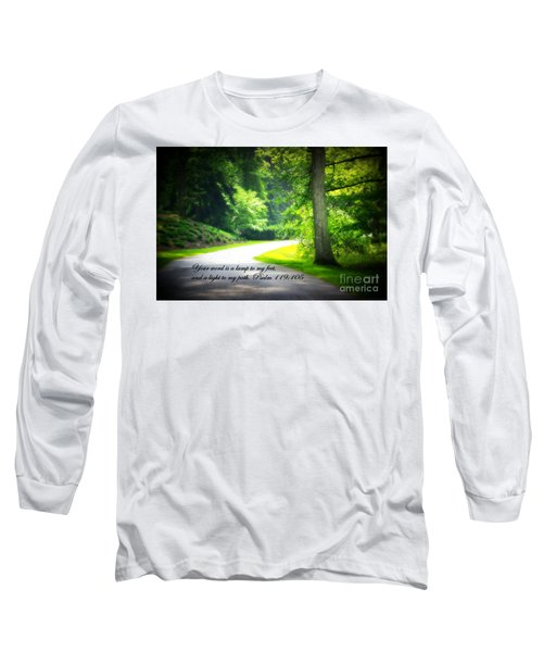 Light To My Path Long Sleeve T-Shirt