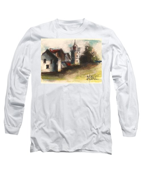 Lighthouse By Day Long Sleeve T-Shirt
