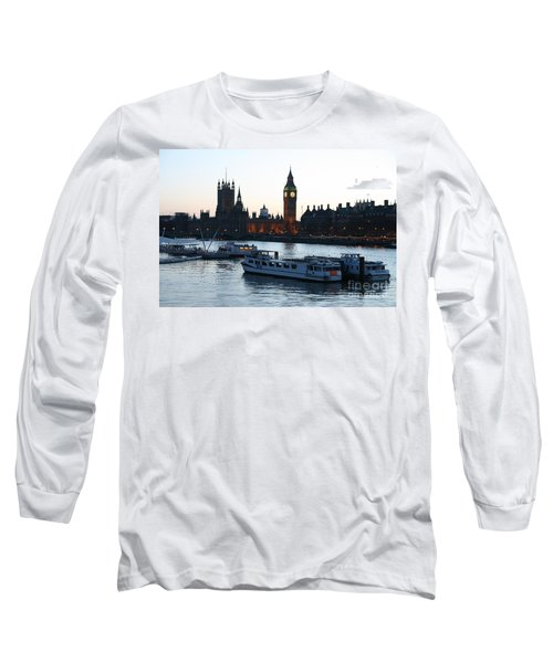 Lighting Up Time On The Thames Long Sleeve T-Shirt