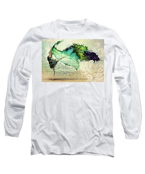 Like Air I Will Raise Long Sleeve T-Shirt