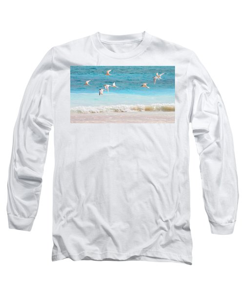 Like Birds In The Air Long Sleeve T-Shirt