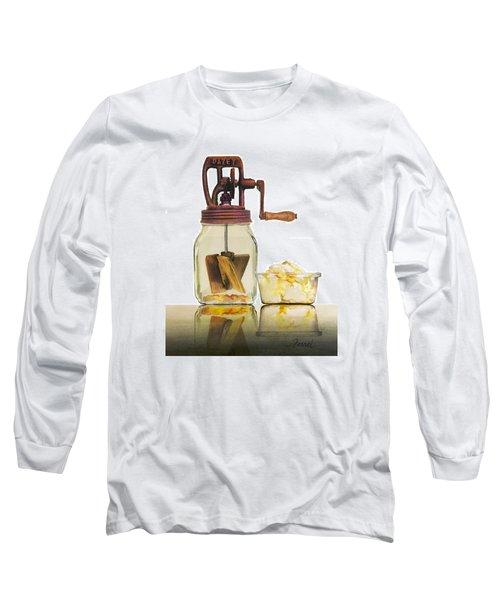 Like Buttah Long Sleeve T-Shirt by Ferrel Cordle