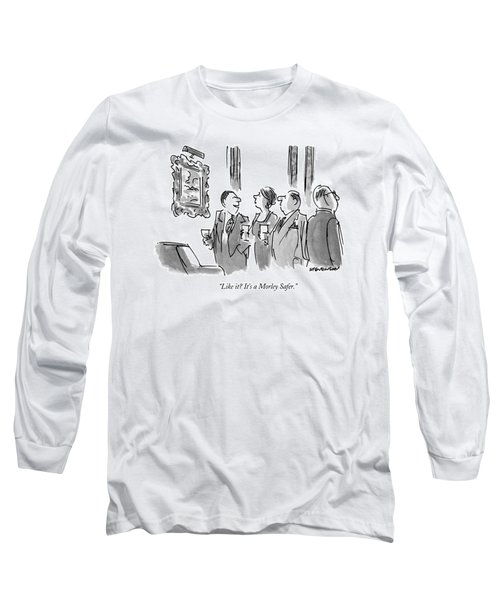 Like It?  It's A Morley Safer Long Sleeve T-Shirt