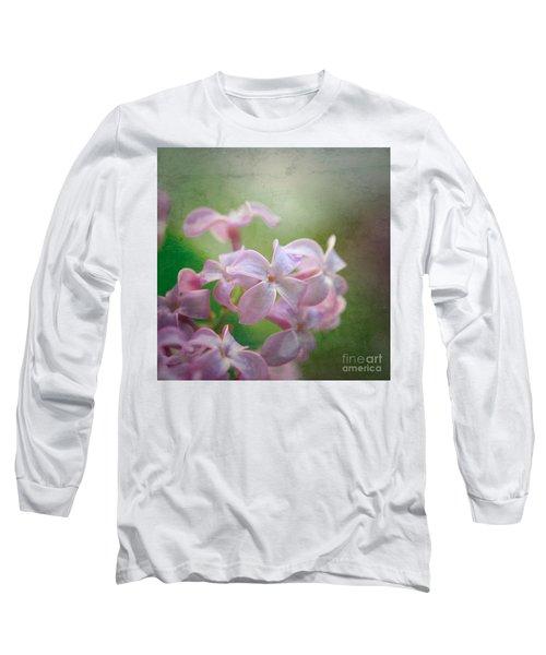 Lilac Dreaming  Long Sleeve T-Shirt by Kerri Farley