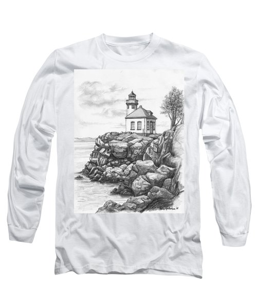 Lime Kiln Lighthouse Long Sleeve T-Shirt