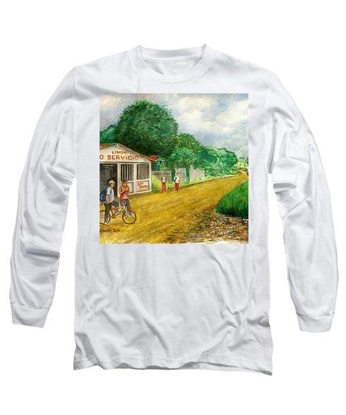 Limon Costa Rica Long Sleeve T-Shirt by Frank Hunter