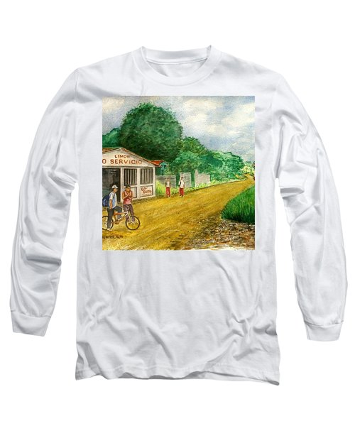Limon Costa Rica Long Sleeve T-Shirt