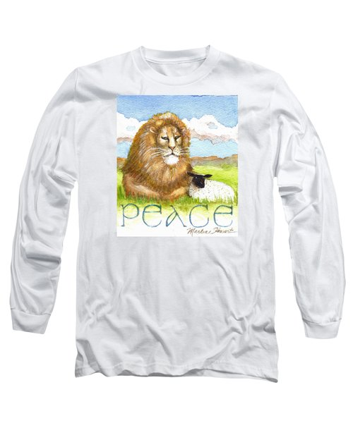 Lion And Lamb - Peace  Long Sleeve T-Shirt