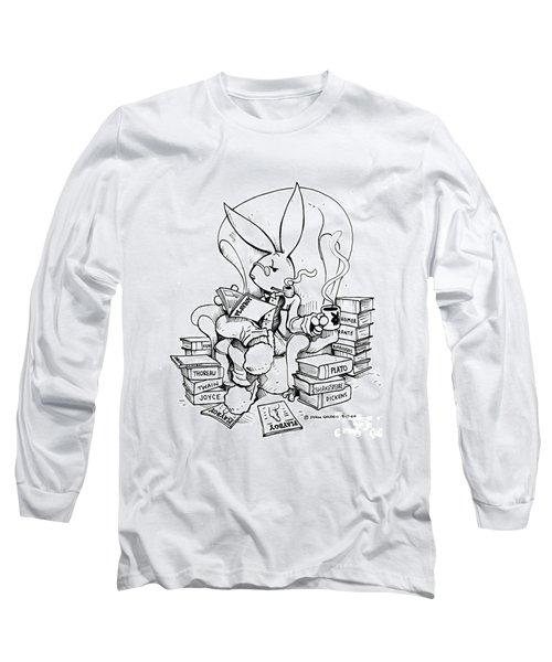Literary Playboy Long Sleeve T-Shirt